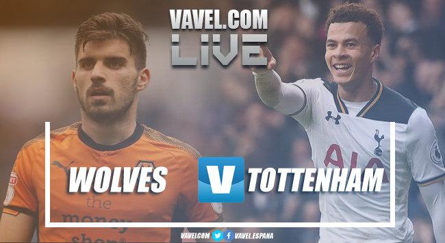 A pesar del gol de Jiménez, Wolves cae ante el Tottenham