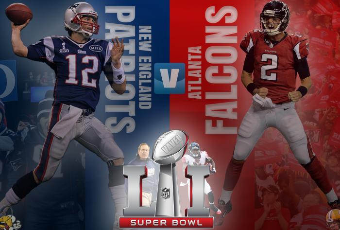Guia VAVEL do Super Bowl LI: Atlanta Falcons x New England Patriots