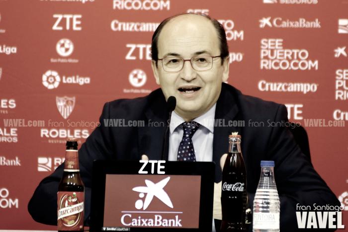 Declaraciones de Pepe Castro valorando la temporada