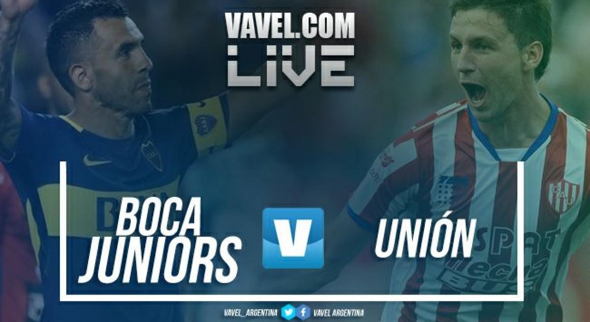 Boca Juniors vs Unión en vivo online por Superliga 2018 (2-0)