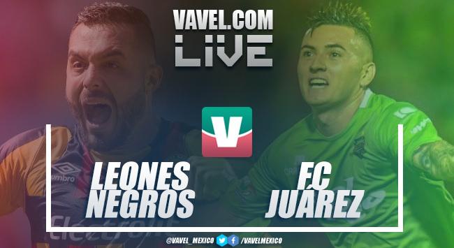Resumen y goles del Leones Negros 1-1 FCJuárez ida de Cuartos de Final Ascenso MX 2018