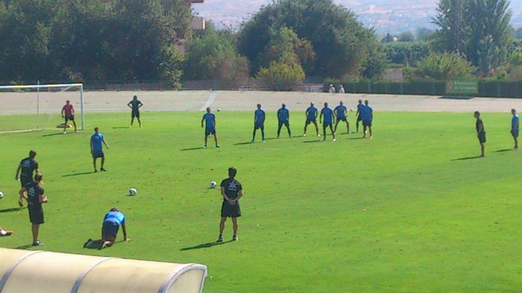 El Granada comienza a entrenarse con las mismas bajas