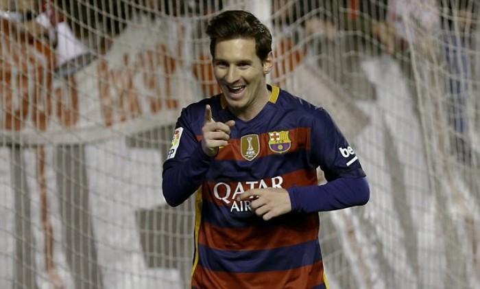 Liga, il Barcellona spazza via il Rayo Vallecano: 1-5 con un super Messi