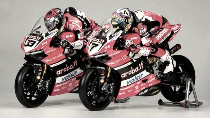 El Aruba.it Racing Ducati reveló su reto, la Panigale R.