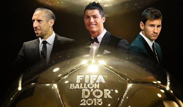 Ribery, Ronaldo e Messi disputam o prêmio de melhor jogador do mundo