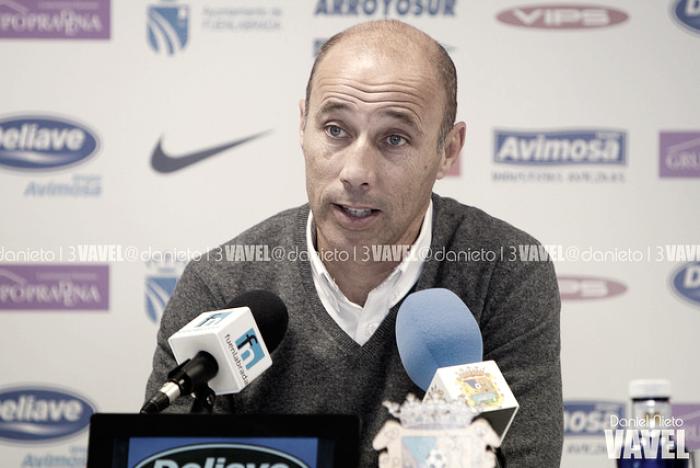 """Antonio Calderón: """"Los objetivos se consiguen en mayo y tenemos que seguir"""""""