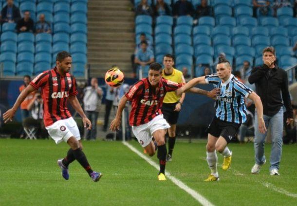 Pela semifinal da Copa do Brasil, Atlético-PR encara o Grêmio em Curitiba