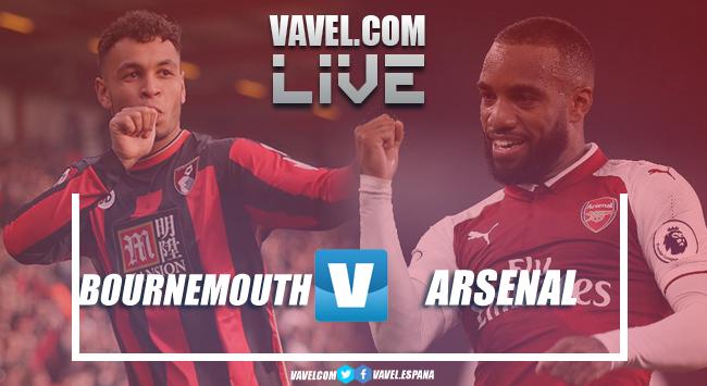 Resumen Bournemouth 1-2 Arsenal en Premier League 2018
