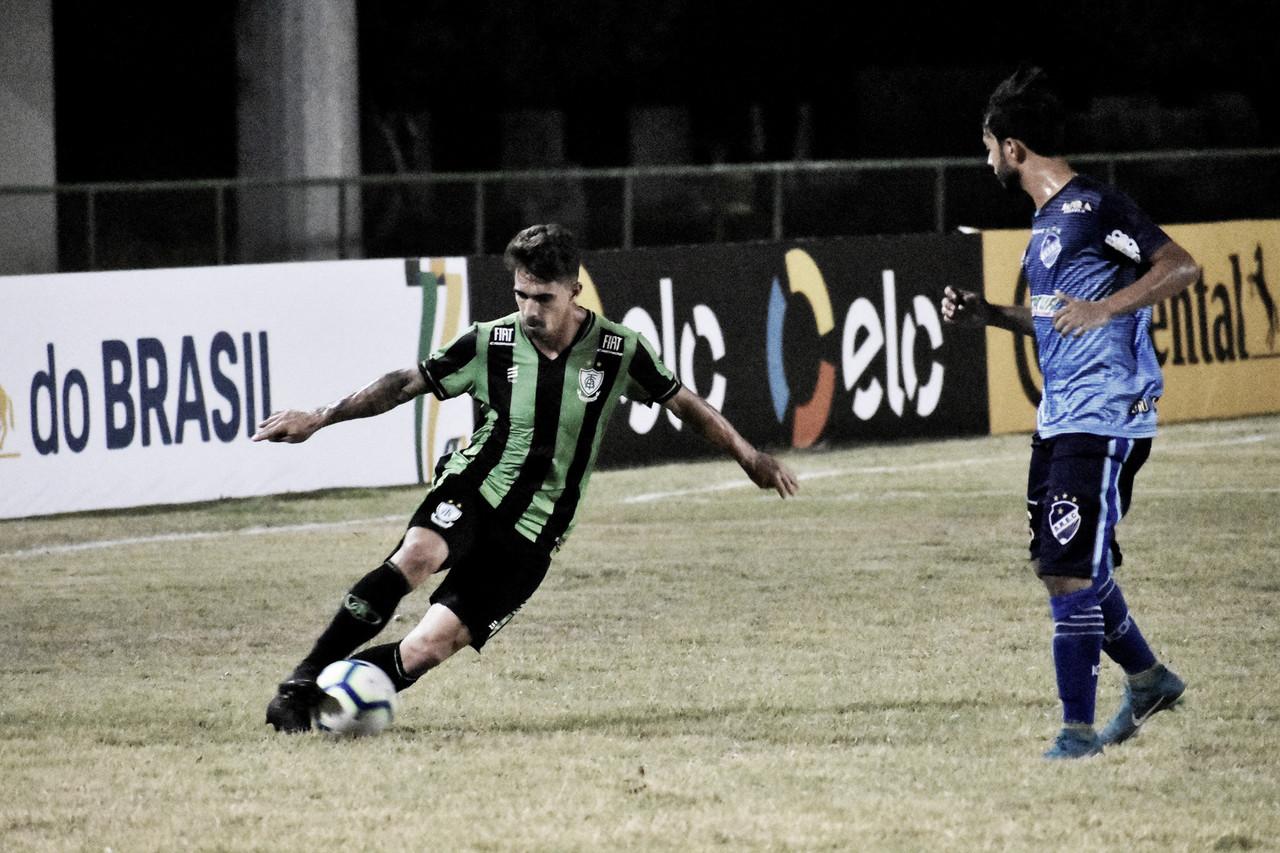 América-MG joga mal, mas consegue classificação diante do São Raimundo na Copa do Brasil