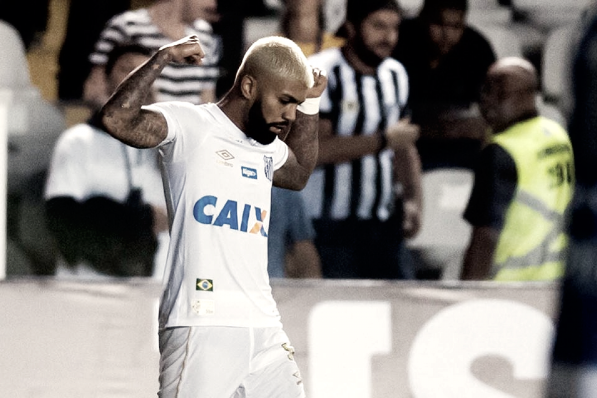 """Após críticas, Gabriel marca três gols e afirma: """"Futebol é assim"""""""