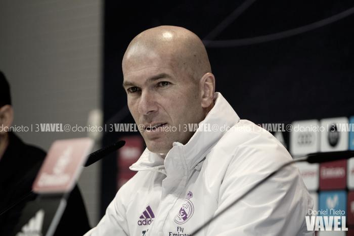 """Zidane: """"Isco y Morata seguro que se merecen más minutos"""""""