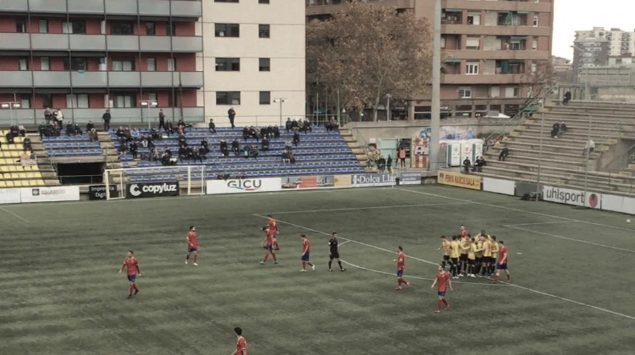 El Sant Andreu golea al Martinenc en el Narcís Sala