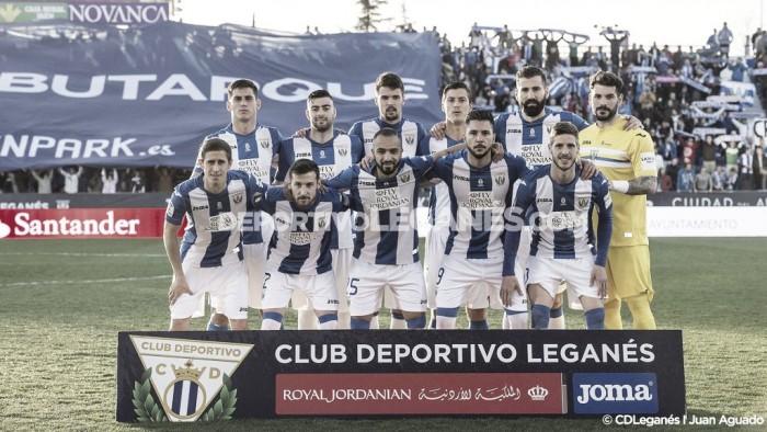 Confirmados los horarios del CD Leganés hasta la jornada 33