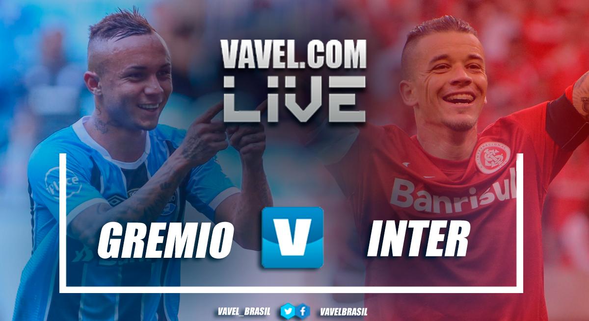 Resultado Grêmio x Inter pelo Campeonato Brasileiro 2018 (0-0)