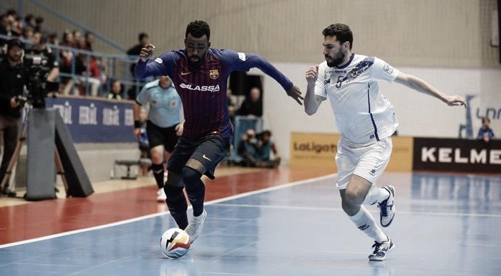 Movistar Inter y Barcelona Lassa suman tres puntos muy trabajados