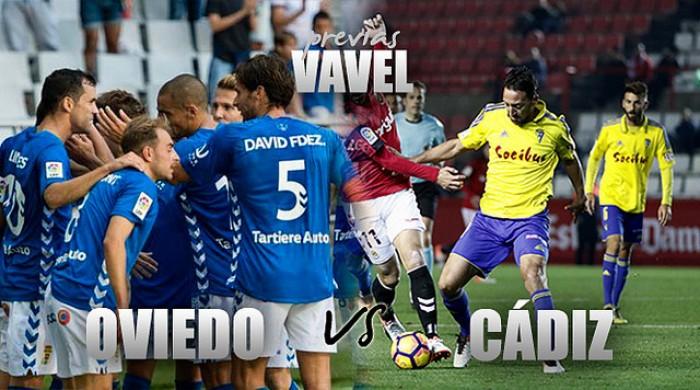 Real Oviedo - Cádiz CF: el playoff pasa por el Tartiere