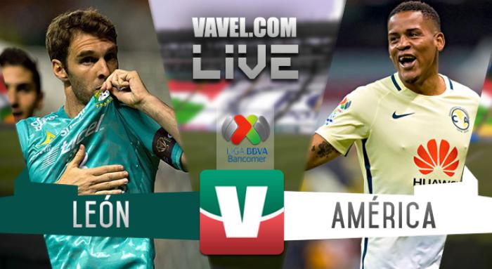 Resultado y goles del León 1-1 América de la Liga MX 2017