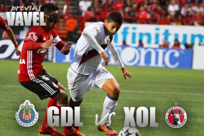 Previa Chivas vs Xolos Tijuana: Por el tercer triunfo del torneo