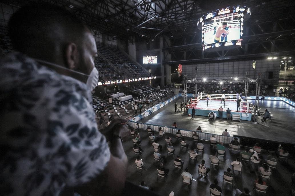 Boxeo en tiempos de pandemia
