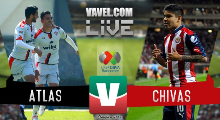 El Clásico Tapatío es rojiblanco: Atlas 1-2 Chivas