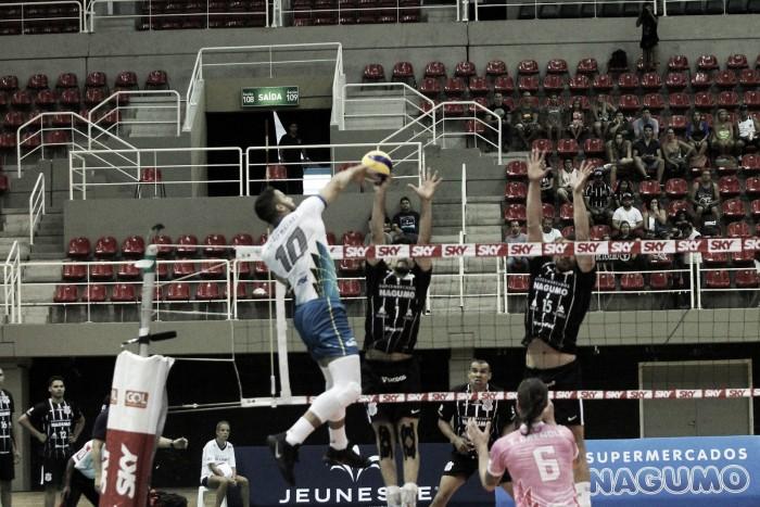 Sesc-RJ supera Corinthians e conquista segunda vitória na Superliga Masculina
