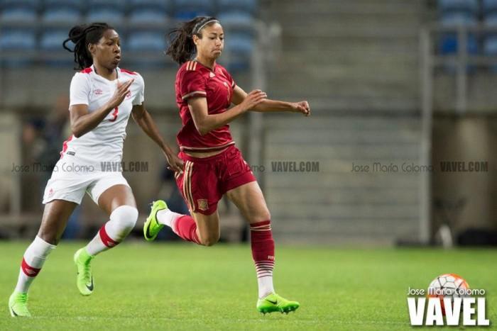 UEFA Women's Champions League: FC Rosengård 0-1 FC Barcelona: Catalans hold slender advantage