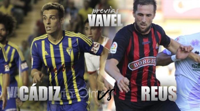 Previa Cádiz CF - CF Reus: los playoffs como objetivo