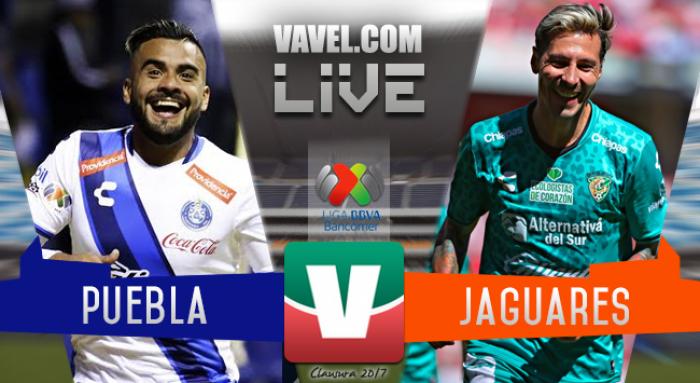 Resultado y goles del Puebla 3-0 Chiapas de la Liga MX 2017