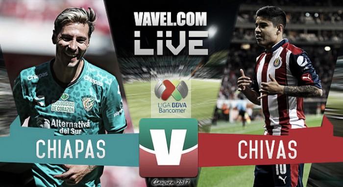 Jaguares de Chiapas vs Chivas en vivo online en Liga MX 2017 (0-0)