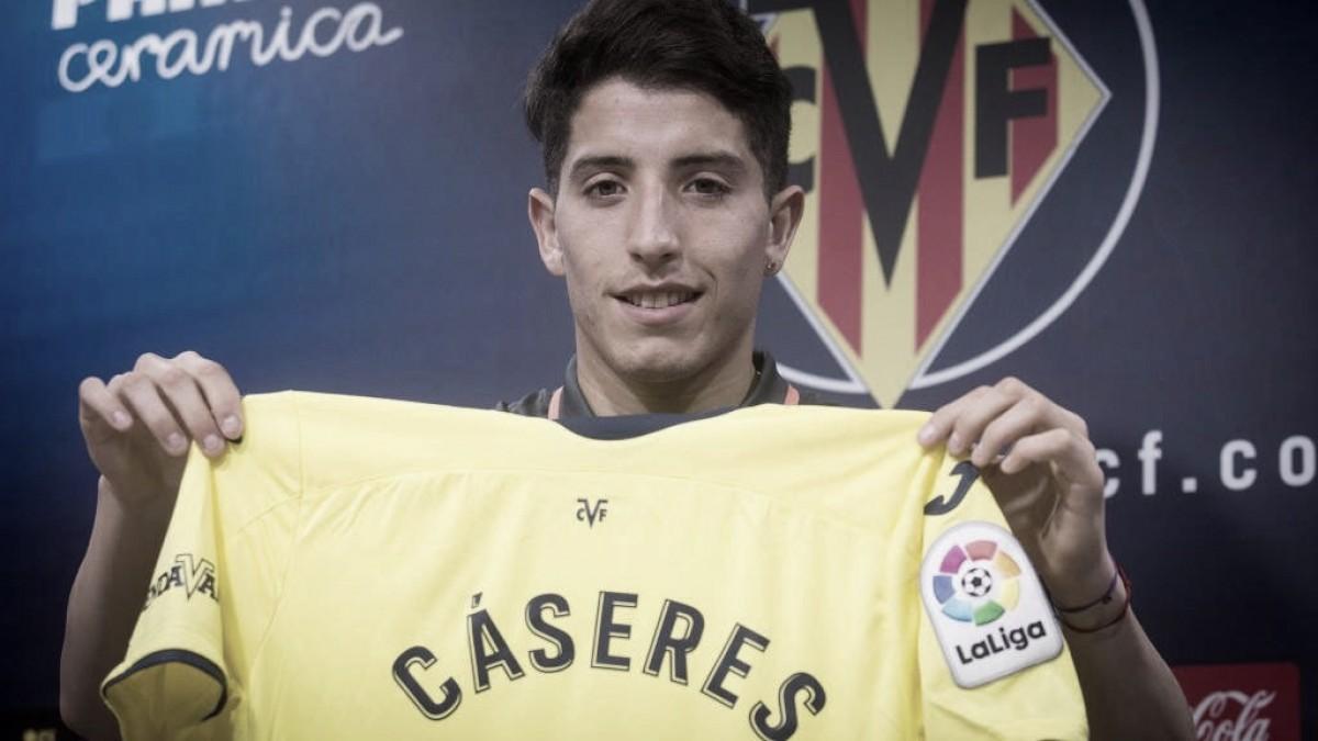 Villarreal anuncia meia Santiago Cáseres como reforço para temporada