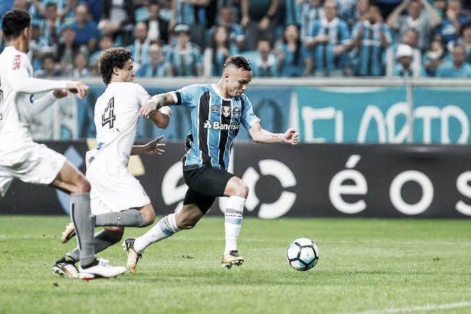 Resultado Grêmio x Santos pelo Campeonato Brasileiro 2019 (1-2)