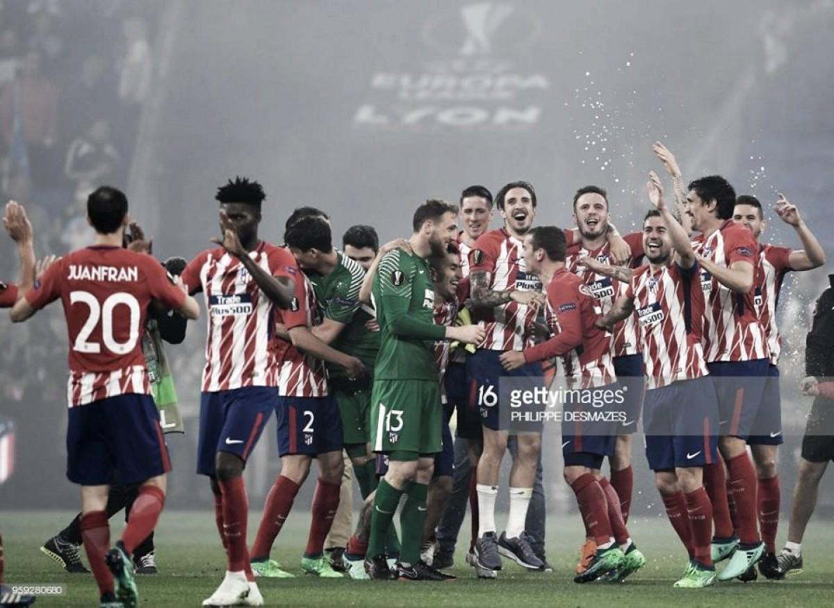 Atlético vence novamente a Liga Europa
