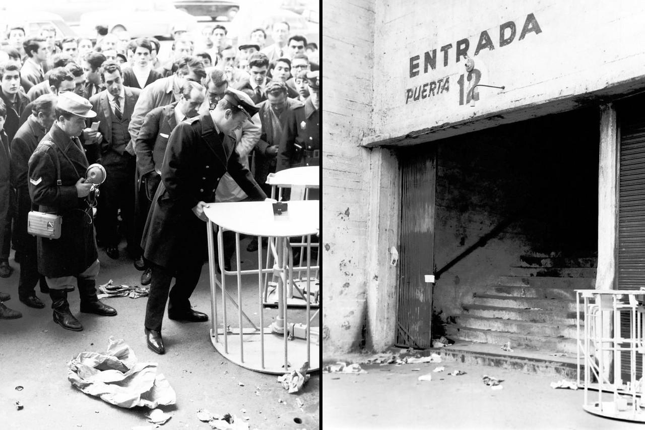 Homenaje de Boca a 52 años de la tragedia de la Puerta 12
