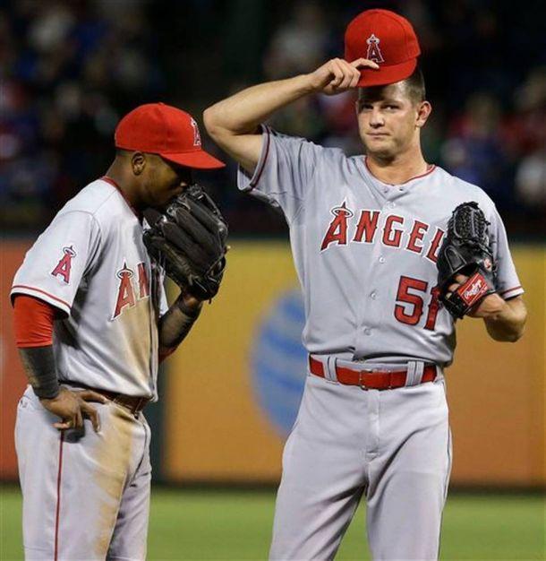 Texas Rangers Clobber LA Angels' Drew Rucinski In His First Career Start