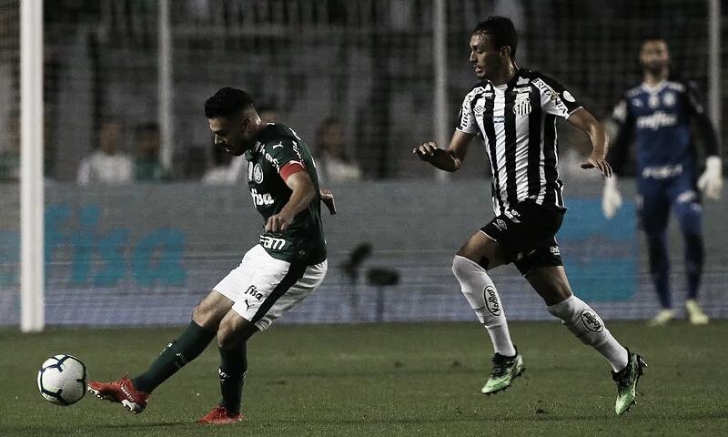 Vale a vice-liderança! Santos e Palmeiras se enfrentam na Vila Belmiro