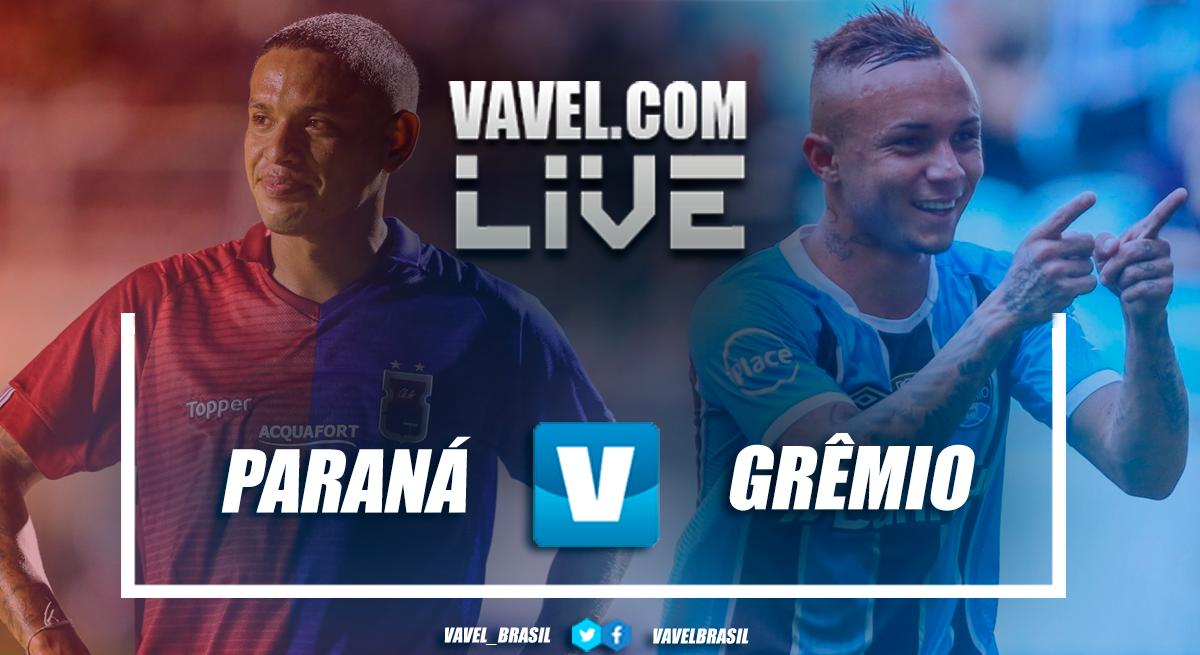 Paraná e Grêmio empatam pelo Campeonato Brasileiro (0-0)