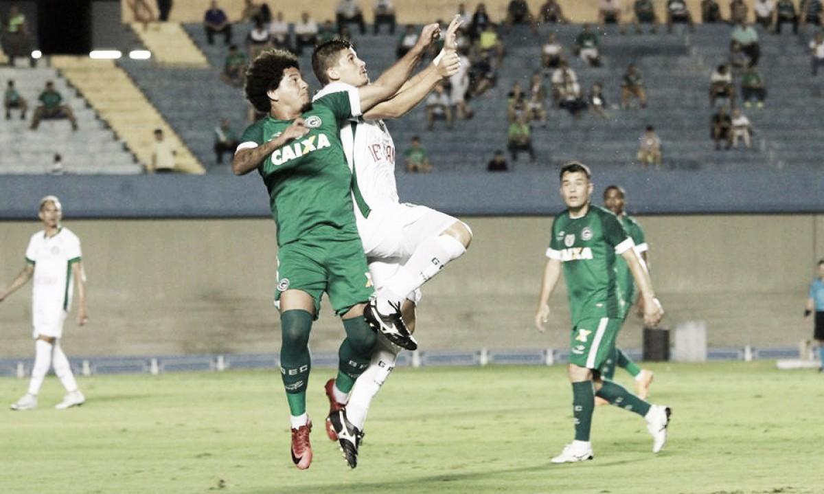 Em partida de baixo nível técnico, Goiás busca empate com Guarani nos acréscimos