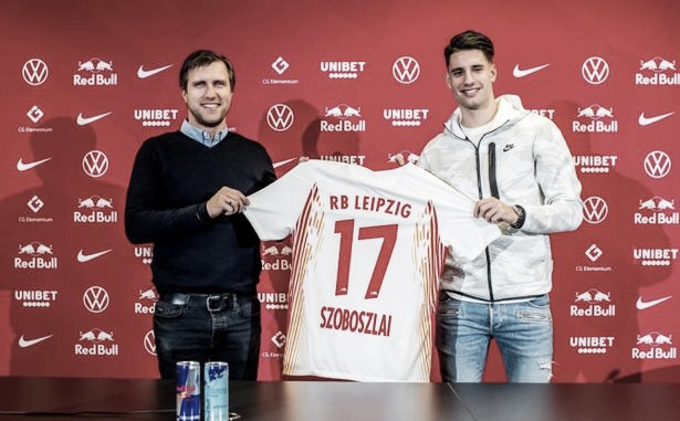 Destaque do Salzburg, meia Dominic Szoboszlai frustra Arsenal e fecha comLeipzig