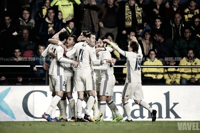 Villarreal - Real Madrid: puntuaciones del Real Madrid, jornada 24 de La Liga