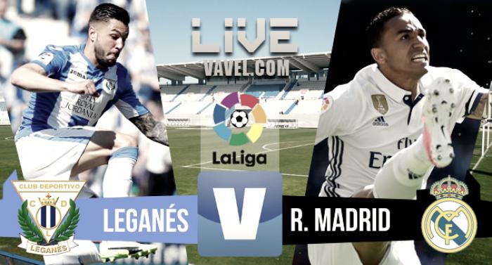 2 Real Madrid 2017 La Liga: Resultado Leganés 2-4 Real Madrid En La Liga 2017