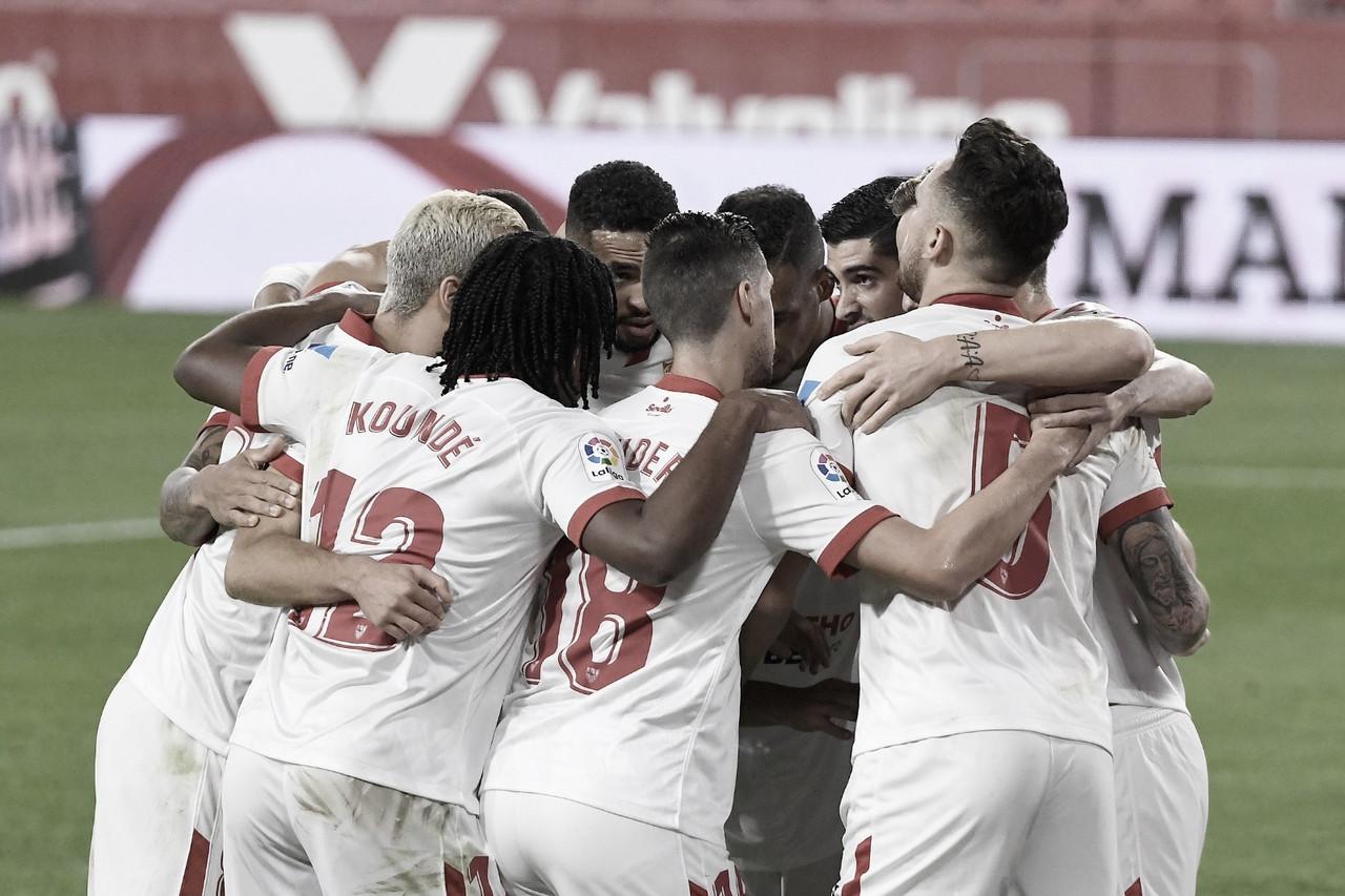 Análisis: Un Sevilla atascado consigue tres puntos de oro ante un buen Osasuna