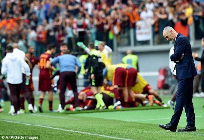 La Lazio crolla nel derby, è esonero per Pioli