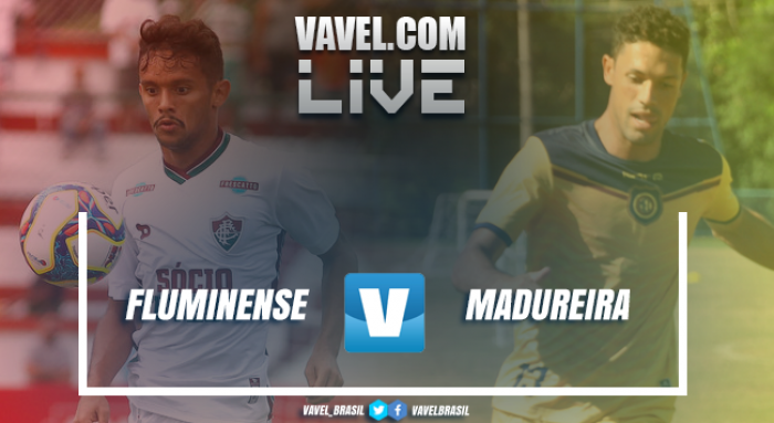 Resultado Fluminense 4 x 0 Madureira no Campeonato Carioca 2019