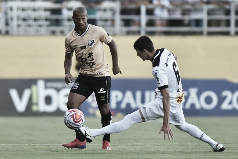 Com desfalques nos dois lados, Santos e Bragantino iniciam disputa pelo Paulistão