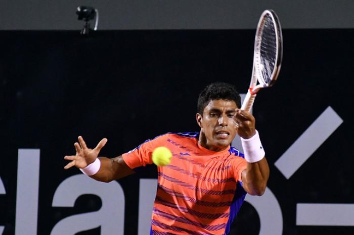 Thiago Monteiro luta, mas perde para revelação norueguesa e está fora do Rio Open 2017