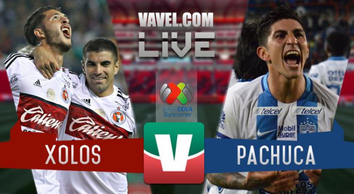 Resultado y goles del Xolos 2-3 Pachuca de la Liga 2017