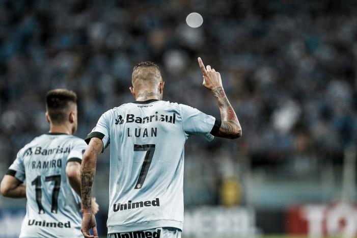 """Luan volta a marcar para o Grêmio contra Atlético-PR: """"Pude fazer um grande jogo"""""""