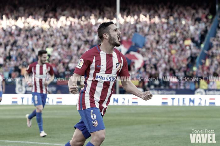 """Koke: """"Hemos dado un golpe en la mesa, esta victoria ante el Sevilla vale muchísimo"""""""
