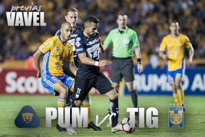 Previa Pumas - Tigres: por la gloria continental
