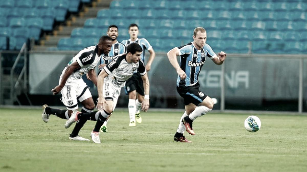 Ceará perde para o Grêmio pelo Campeonato Brasileiro 2018 (0-1)